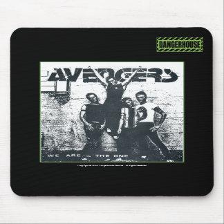 Mousepad Avengers We Are The One Dangerhouse BLACK