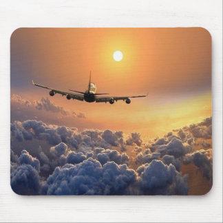 MousePad - Aviation with put-pity-sun