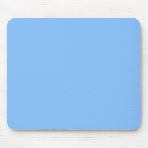 Mousepad azul en colores pastel alfombrilla de raton