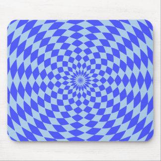 Mousepad azul hipnótico