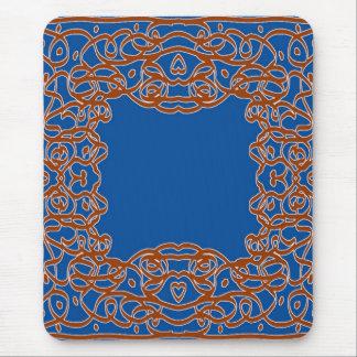Mousepad azul profundo del pañuelo