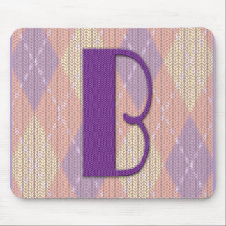 Mousepad- B Mouse Pad