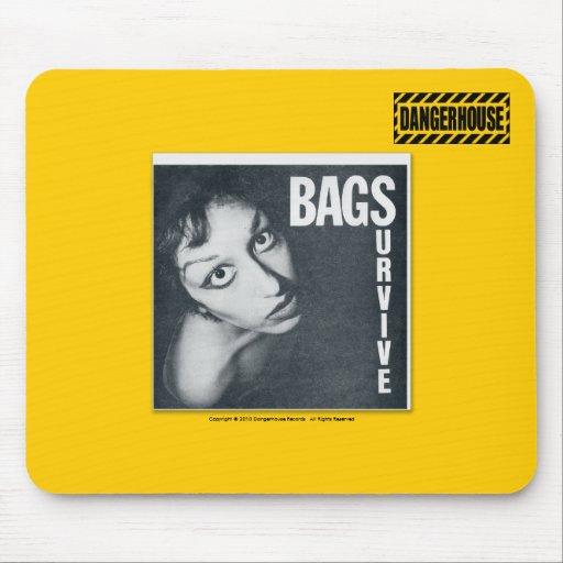 Mousepad Bags Survive Dangerhouse LIGHT