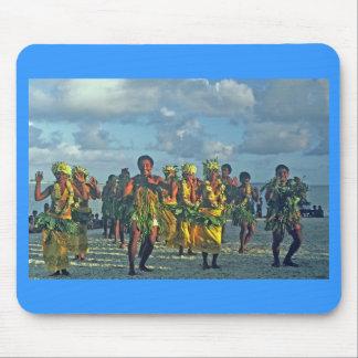 Mousepad, bailarines en la playa, Pukapuka Alfombrilla De Ratón