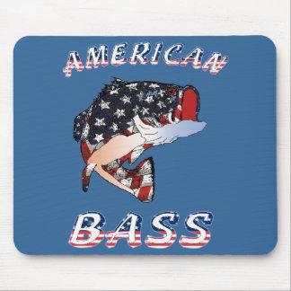 Mousepad bajo americano tapete de ratones