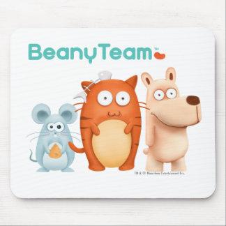 Mousepad: BeanyTeam™ - gato y ratón y perro Alfombrilla De Raton
