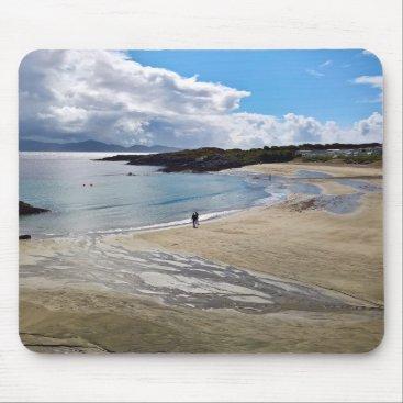 Mousepad: Beautiful beach with blue sky ; Ireland Mouse Pad