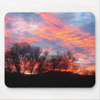 Mousepad - Beautiful winter sunrise