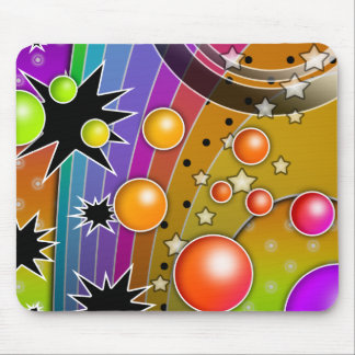 Mousepad - BIG BANG BLACK HOLES POP ART