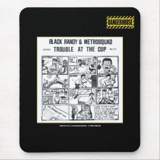 Mousepad Black Randy Trouble Dangerhouse BLACK