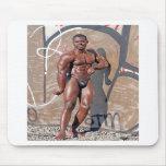 Mousepad, bodybuilder Jean SCUTT # 5A Alfombrilla De Ratones