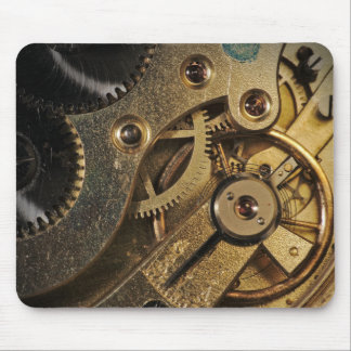 MousePad: Brass Hearted. Watch Mechanism Mouse Pad