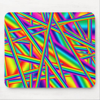 Mousepad brillante del arco iris