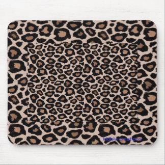 mousepad - brown leopard