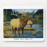 Mousepad - Bull Elk Serenade