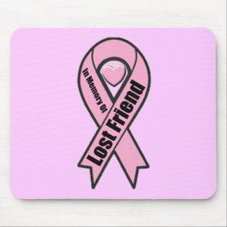 Mousepad - cáncer de pecho - amigo perdido