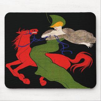 Mousepad Cappiello - anuncio del chocolate del vi Alfombrilla De Raton