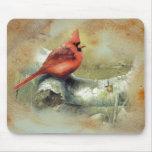 Mousepad cardinal tapetes de ratones