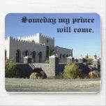 """Mousepad: Castillo de Eagle """"que mi príncipe algún Tapete De Ratón"""
