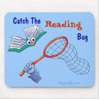 Mousepad_Catch el insecto de la lectura Tapete De Ratón