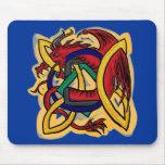 Mousepad céltico del dragón alfombrilla de ratón