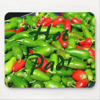 Mousepad - Chili Peppers