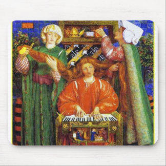 Mousepad:  Christmas Carol - by Rossetti Mouse Pad