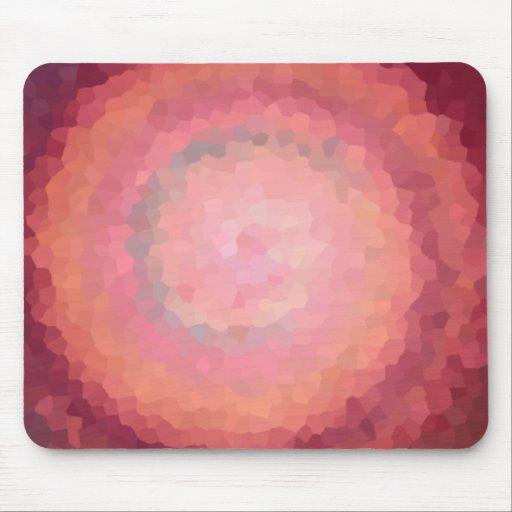 Mousepad circular coralino