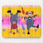 Mousepad Circus Clowns Mouse Pad