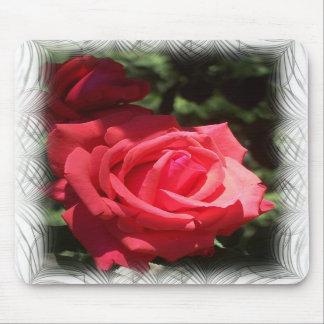 Mousepad color de rosa