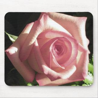 Mousepad color de rosa elegante