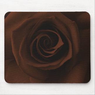 Mousepad color de rosa marrón