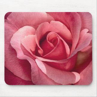 Mousepad color de rosa rosado bonito