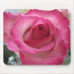 Mousepad color de rosa rosado alfombrillas de raton