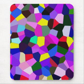 Mousepad coloreado