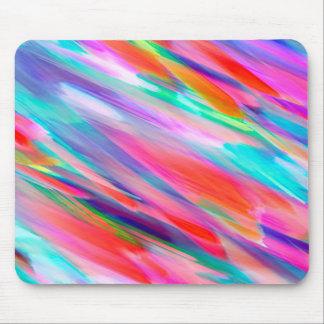 Mousepad Colorful digital art splashing