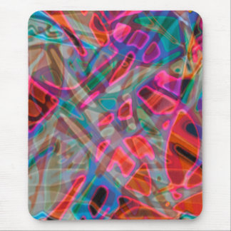 Mousepad Colorful Stained Glass