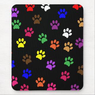 Mousepad colorido de la diversión del mascota del