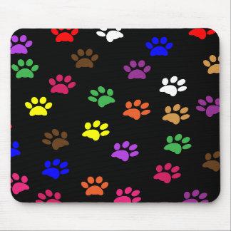 Mousepad colorido de la diversión del mascota del  tapetes de raton