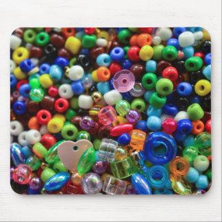 Mousepad colorido de las gotas alfombrillas de raton