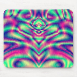 Mousepad - Coloured Abstract - Light Filtered