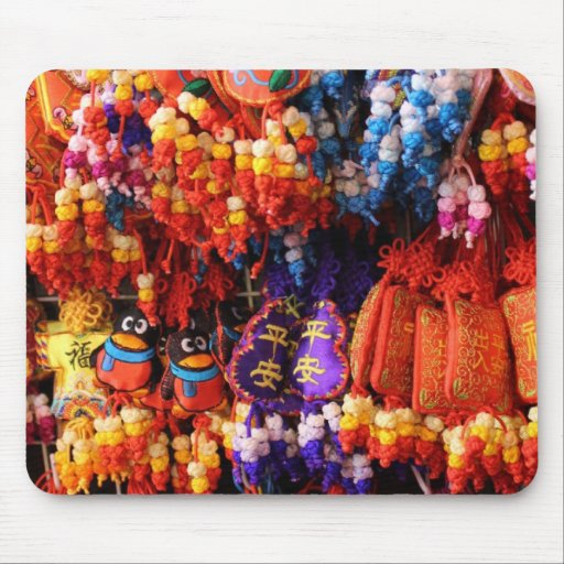 MOUSEPAD - Colourful Chinese Trinkets