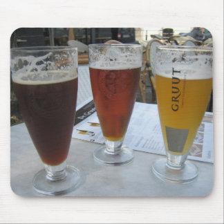 Mousepad con 3 cervezas de Gruut