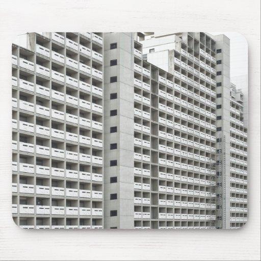 Mousepad con arquitectura moderna