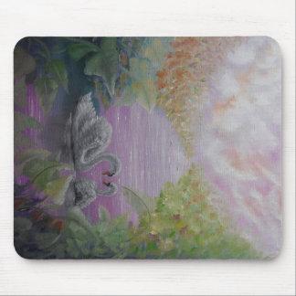 Mousepad con diseño romántico