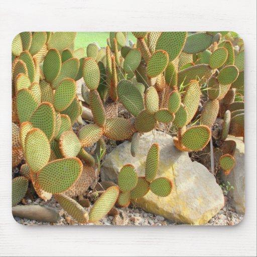 Mousepad con el cactus alfombrillas de ratón