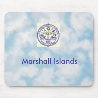 """Mousepad con el """"sello de Marshall Islands """""""