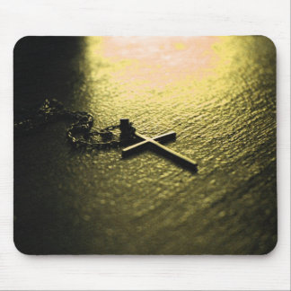 Mousepad con la cruz