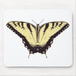 Mousepad con la mariposa amarilla tapetes de raton