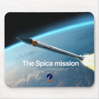 Mousepad con la misión de Spica Alfombrilla De Ratón